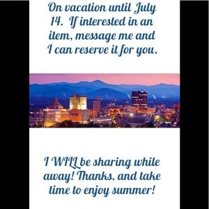 On vacation through July 14!